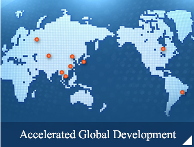 Accelerated Global Development
